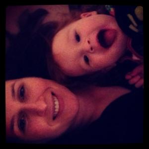 2013 02 Selfies Mom and Ellie