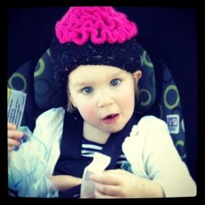 2013 04 Selfie Carrie Hat